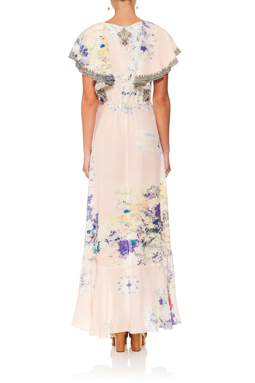 Camilla Harajuku Heiress Frill Sleeve Long Dress