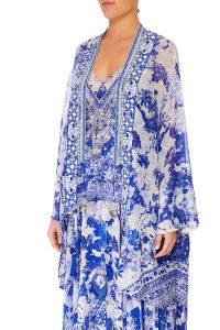 6f60a66e63c Camilla  Her Heirloom - Kimono Sleeve Playsuit With Obi Belt ...