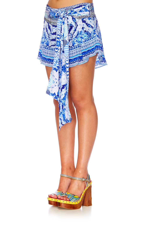 7fab60e2eb1 Camilla  Throwing Shade - Waist Tie Short - Michelle Ann