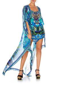 5c0ce3ddd73 Camilla  Amazon Azure – Drape Long Back Overlay
